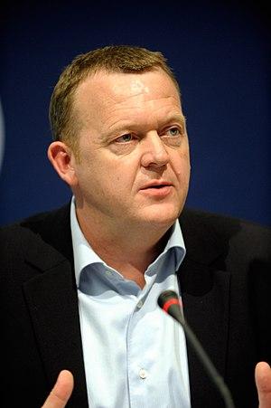 Lars Løkke Rasmussen - Image: Danmarks statsminister Lars Loekke Rasmussen pa Nordiskt globaliseringsforum 2010