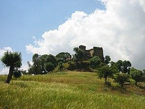 Susenyos I - Ruins of Susenyos' palace at Dankaz