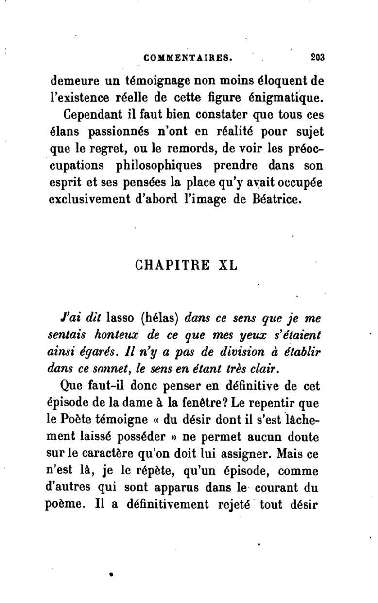 Pagedante Alighieri La Vie Nouvelle Traduction Durand