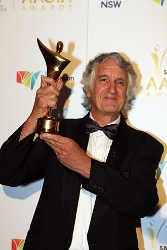 David Parer - David Parer, winner of best cinematography in a documentary, AACTA awards 2011.