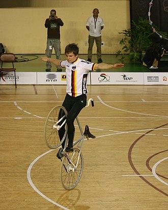 Artistic cycling - David Schnabel
