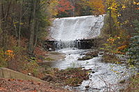 Davis Run and the Pumping Station Dam.JPG