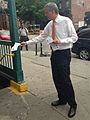 De Blasio at TWU Day of Action to Restore Station Booths & Agents (8973604740).jpg