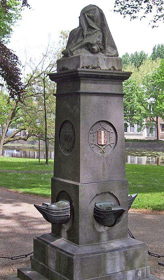 Cornelis de Houtman - Monument for Cornelis and Frederick de Houtman in Gouda, Netherlands