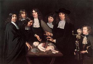 Frederik Ruysch - Image: De anatomische les van Dr. Frederick Ruysch