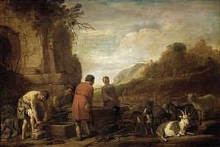 The meeting of Jacob and Rachel