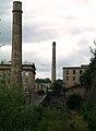 Dean Clough Mills railway bed.JPG