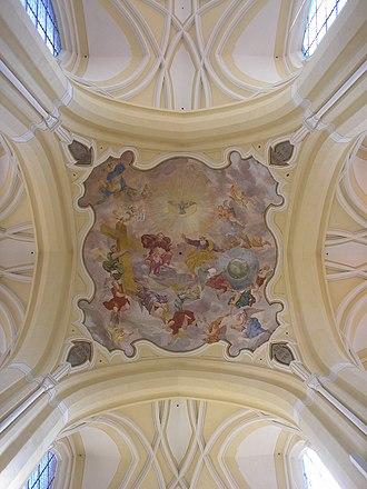 Sedlec Abbey - Image: Deckengewoelbe Kloster Sedletz