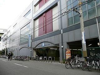 Dekijima Station Railway station in Osaka, Japan
