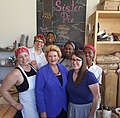 Delicious visit with Lisa and the Sister Pie Detroit team! (36627038734).jpg