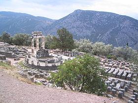 temple d'Athéna Pronaia