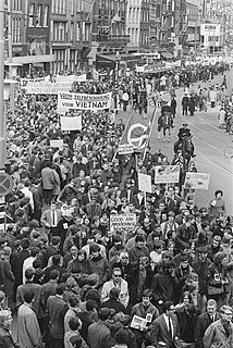 Lists of protests against the Vietnam War