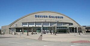 Denver Coliseum - Image: Denver Coliseum