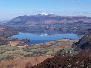 Hardwicke Rawnsley - Derwentwater, looking towards Crosthwaite