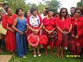 Des membres de la famille royale célébrant le nouvel an malgache à Ambohidrabiby le 30 mars 2014.JPG