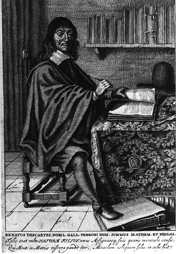 René Descartes at work