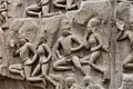 Descent of the Ganges, Pallava period, 7th century, Mahabalipuram (19) (36763784304).jpg