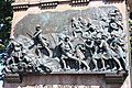 Detail on the Black Watch Memorial on the Mound, Edinburgh.JPG