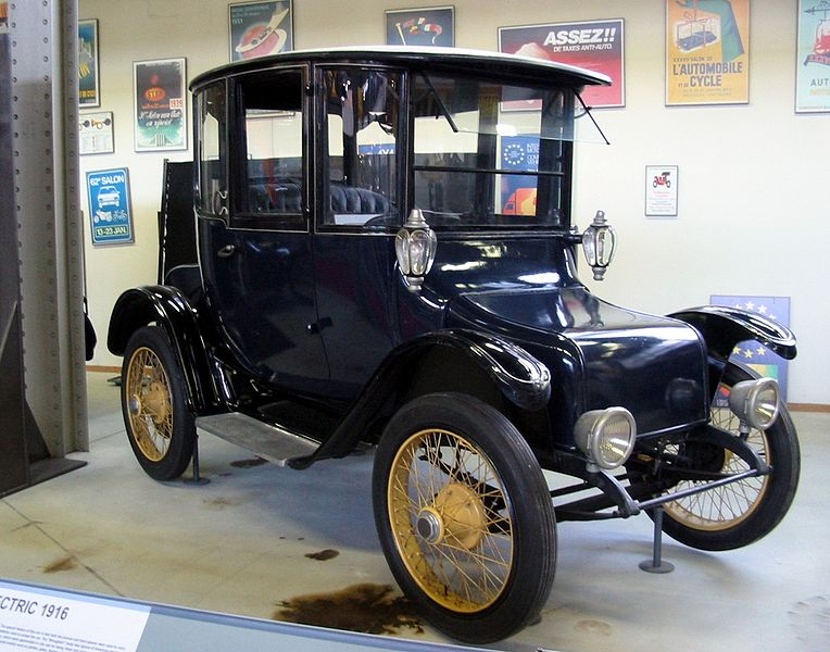 Historical electric vehicles v is for voltage electric for Baker motors used cars