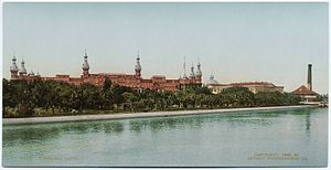 Henry B. Plant Museum - Tampa Bay Hotel, ca. 1900.