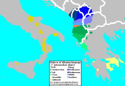 Dialects of the Albanian Language.png