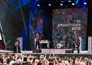 Die Apokalyptischen Reiter german metal band