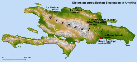 The first European settlements in America.png