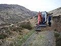 Digger in Gleann na Muice - geograph.org.uk - 795952.jpg