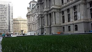 Dilworth Park - The lawn at Dilworth Park (2015)