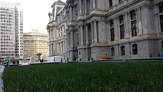 Dilworth Park - The lawn at Dilworth Park