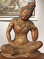 Dinastia song o jin, bodhisattva avalokitesvara (guanyin), seduto sul monte potalaka, X-XIII sec.JPG