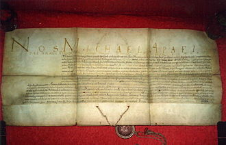 Early Modern Romania - Michael I Apafi's grant of nobility