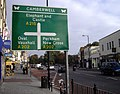 Direction sign on Denmark Hill - geograph.org.uk - 1542639.jpg