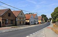 Dobřany, Vodní Újezd, road to Zbůch.jpg
