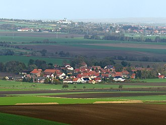 Söllingen - Dobbeln, in the background Schöningen