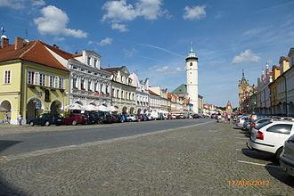 Domažlice - Central square