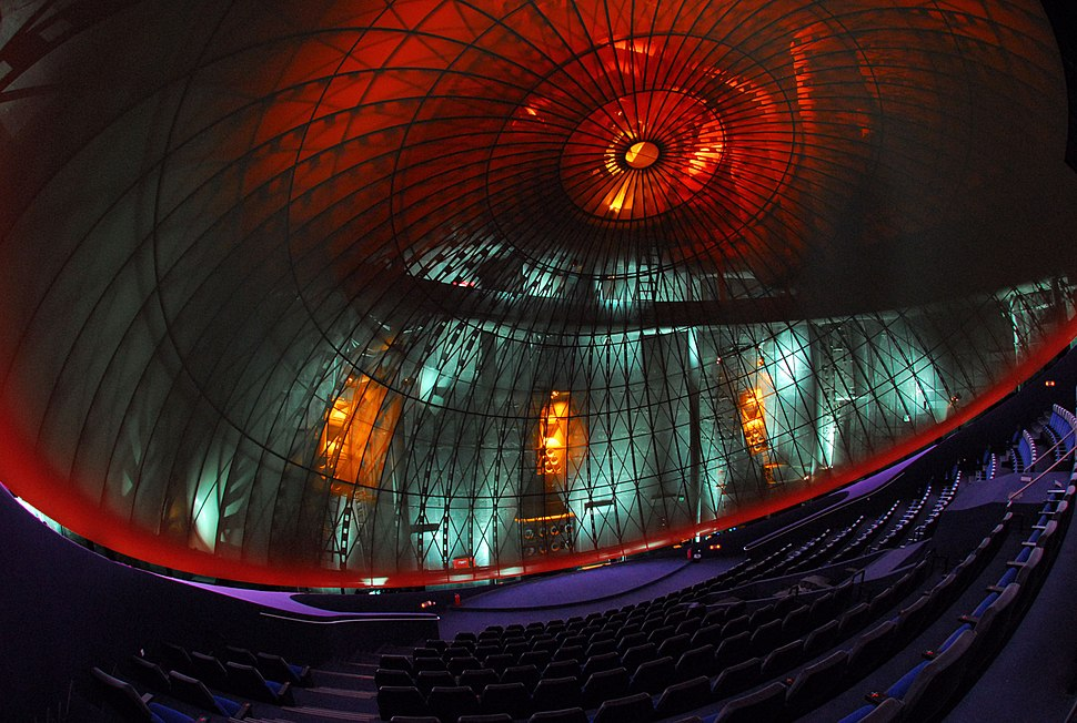 Dome of the Athens Planetarium