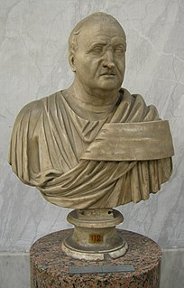 Gnaeus Domitius Ahenobarbus (father of Nero) Roman politician and relative of the five Roman Emperors of the Julio-Claudian dynasty (17 BC-41 AD)