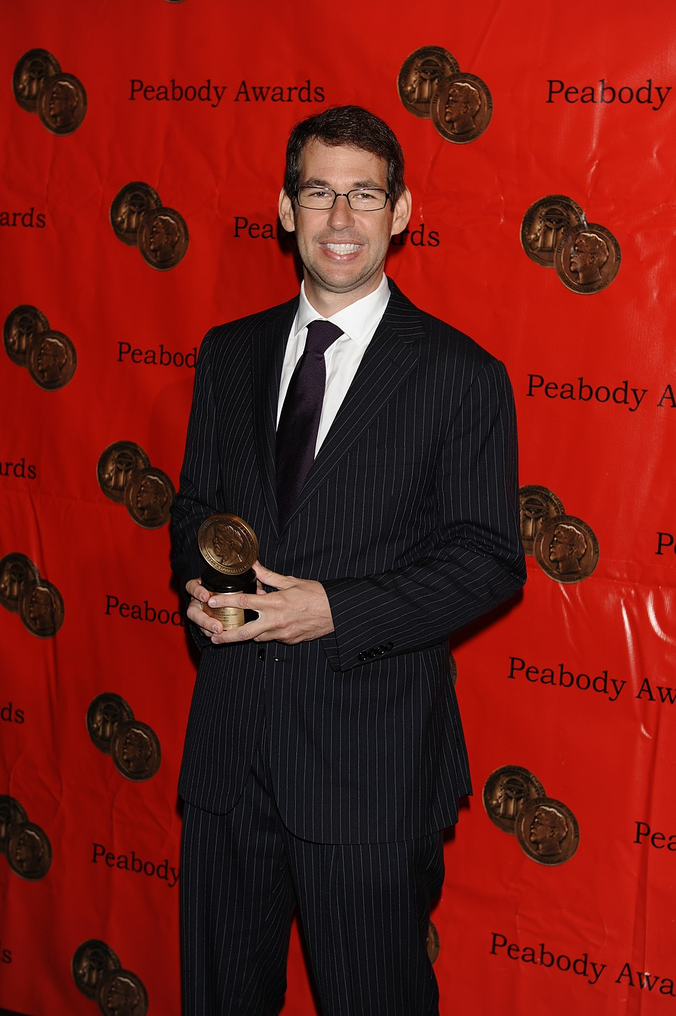 Doug Ellin at the 68th Annual Peabody Awards for Entourage