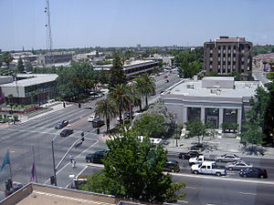 Kern County, California - Image: Downtown Bakersfield