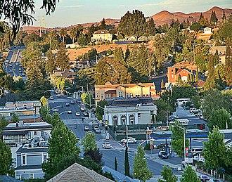 Pinole, California - Old Town Pinole