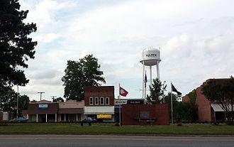Prairie County, Arkansas - Streetside in Hazen