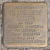 Stolperstein für Dr. Engelbert Decker