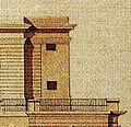 Dresden Drittes Belvedere Ausgeführter Fassadenentwurf von Christian Friedrich Schuricht Variante 2.jpg