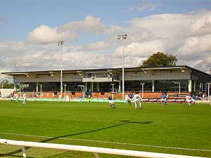 New Grosvenor Stadium - Drumbo Park Stand