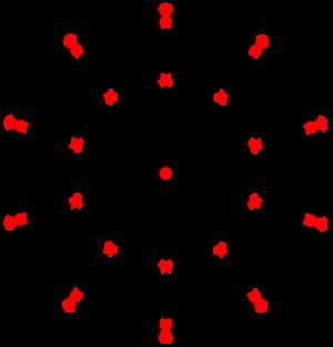 Triakis icosahedron - Image: Dual dodecahedron t 12 H3