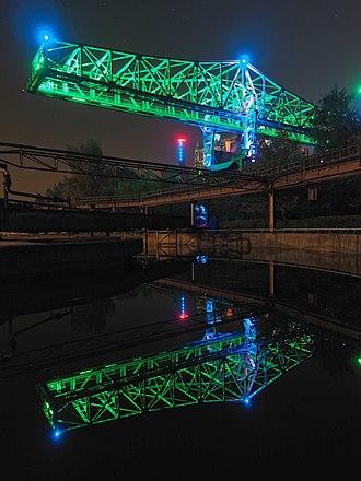 Landschaftspark Duisburg-Nord - Loading bridge