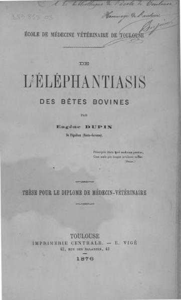 File:Dupin - De l'éléphantiasis des bêtes bovines.djvu