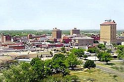 Skyline of San Angelo, Texas