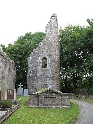 Dysert O'Dea Monastery - Image: Dysert Round Tower